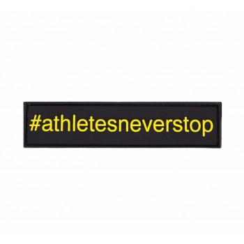 Athletesneverstop Patch