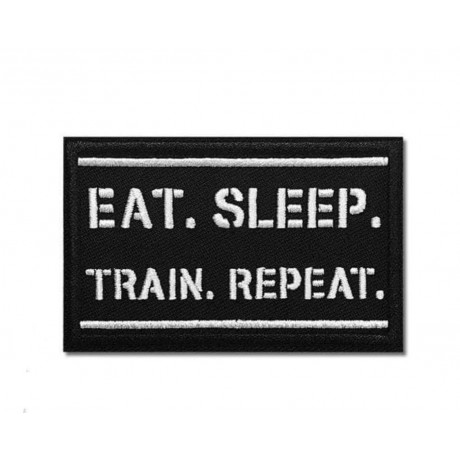 Eat Sleep Train Patch